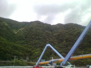 高崎山を臨む