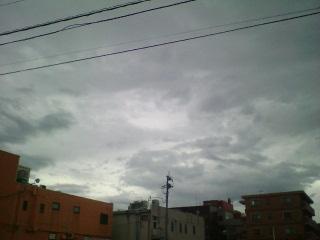 嵐の前の?